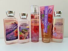 Bath & Body Works French Lavender & Honey Signature Collection Set of 5 pcs
