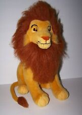 "1994 Applause The Lion King Adult Simba Plush 17"" Stuffed Animal Disney 90s Toy"