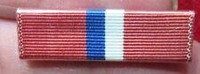 WW 2 Philippine Liberation Medal Ribbon Bar Plastic Coated Wolf Brown ? original