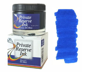 Private Reserve Fountain Pen Ink Bottle, 60ml, Electric DC Blue