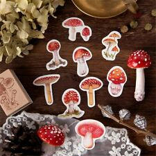 45pc Mushroom Paper Stickers DIY Diary Album Stickers Scrapbooking Planner Label