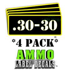 .30-30 Ammo Label Decals Ammunition Case 3