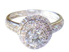14 Carat Solitaire White Gold I1 Fine Diamond Rings