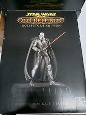 "Star Wars The Old Republic Collector's Ed Box and Statue Only 8"" Darth Malgus Se"