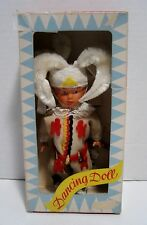 Ultra Rare Vintage Wind-Up SWEETHEART DANCING DOLL-N.W.Germany-Native American?