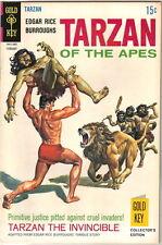 Tarzan Comic Book #182, Gold Key Comics 1969 FINE+