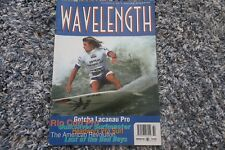 WAVELENGTH UK Surfing Magazine 60 1996 GOTCHA RIP CURL QUIKSILVER HEADWORX