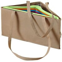 Coathanger Organiser Storage Bag Box Container Holds 100 Wire Clothes Hangers