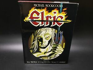 SIGNED NUMBERED Michael Moorcock's Elric of Melnibone Russell Thomas Gilbert