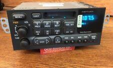Brand New Chevy Camaro AM/FM/Cassette Tape Radio 1998-2002 +Changer Controls