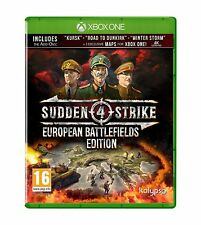 Sudden Strike 4 European Battlefields Edition For XBOX One (New & Sealed)