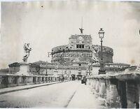 Château San - Ange Roma Italia Foto Amateur Vintage Ca 1900