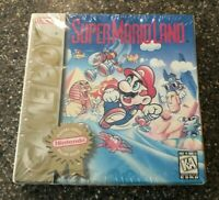 Super Mario Land (Nintendo Game Boy) H-SEAM Factory Sealed - Rare - Free Ship