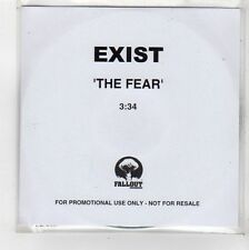 (FU815) Exist, The Fear - DJ CD