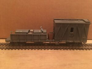 HO Roundhouse New York Central MOW Tool Flat Car Caboose NYC #910240