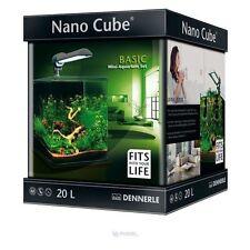 Dennerle Nanocube 20L di Base Acquario Vasca dei Pesci + & Filtro Set completo di luce