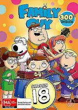 Family Guy Season 18 (DVD, 2018, 3-Disc Set)