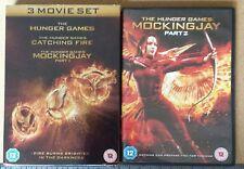 The Hunger Games 3 Movie Set. Plus Mockingjay Part 2.  DVD