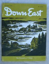 DOWN EAST Maine mag OCT 1964  MERRYMEETING DUCK HUNT  Carroll Thayer Berry Cover