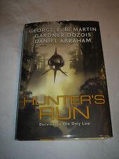 Hunters Run SIGNED by George R R Martin Daniel Abraham Gardner Dozois 2008 HCDJ