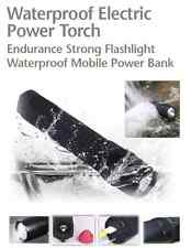 Flashlight Survival Tactical Led Waterproof Charge Phone Mobile Power Bank Usb