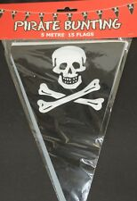 5m Pirate Bunting Party Flag Decoration