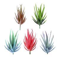 Artificial Aloe Succulent Flower Plastic Plant Fake Decor Aloe Home Y0T3 X3X0