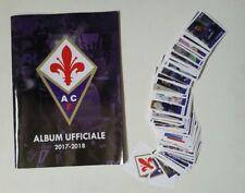 Album UFFICIALE ACF FIORENTINA 2017 - 2018 ESSELUNGA 176 figurine su 180 maclama