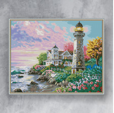 LIGHTHOUSE - Counted cross stitch kit (with DMC threads)
