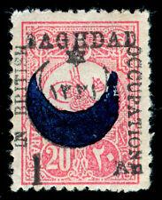MOMEN: MESOPOTOMIA BAGHDAD SG #22 1917 MINT OG H £1,300 LOT #60673