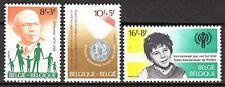 Belgium - 1979 Solidarity - Mi. 2007-09 MNH