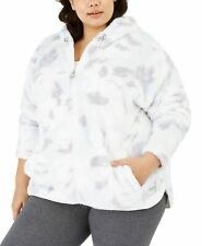 Calvin Klein Womens Jacket Purple Size 2X Plus Performance Fleece $79 048