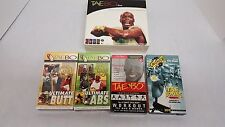 Lot of 8 Tae Bo w/ Billy Blanks Fitness/Kickboxing VHS Tapes