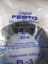 Festo Druckluftschlauch PL-3 PL-3-BL 3453 Pneumatic Tubing Pneumatik 50m Neu