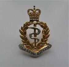 Royal Army Medical Corps Officers Cap Badge - RAMC