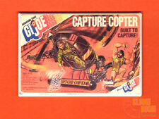 "GI Joe Capture Copter 2x3"" fridge/locker magnet Hasbro box art"