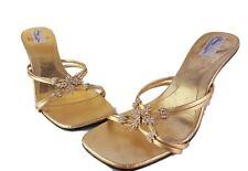 Sandal House para mujeres Sandalias Zapatos Talla 5 Tacón Altura 3.25in Brillo De Navidad