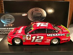 2018 Action RCCA Elite Ryan Blaney #12 Wrangler 1/24 1 of 103