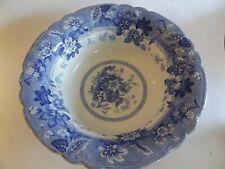 Large Antique Minton's Blue and White Bowl c.1850