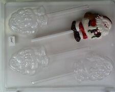 Chocolate Mould - Medium Santa with Sack on Stick