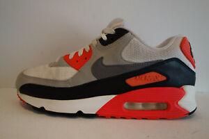 """Nike Air Max 90 """"Infrared""""    rot weiss grau Gr.41"""