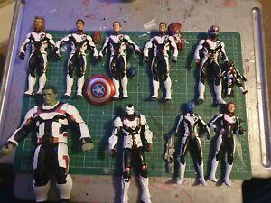 Marvel legends Quantum Suits Custom set of all 10 inc 5 custom head sculpts.