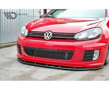 GOLF 6 GTI GTD Diffusor Lippe Frontansatz Frontlippe Spoiler Hochglanz VW Black