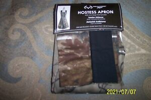 NEW Womens  Realtree AP Hostess Apron One Size Fits Most Camouflage Print!!!