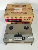 Vintage Sony 262-D 4-Track Stereo Tape Recorder, open-frame *NICE & WORKS*