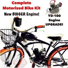 Fat Boy Flyer- Motorized Bike Kit - w/New Bigger 2-Stroke Engine - Complete Kit!