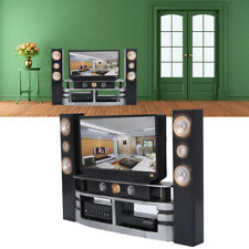 Miniature TV Television Remote Controller Furniture For 1:12 Dollhouse Decor