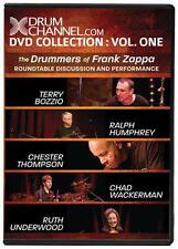DC Collection: Vol 1: The Drummers of Frank Zappa (DVD 2009) DrumChannel.com OOP