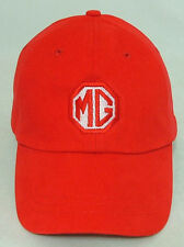 MG MGA MGB MIDGET MGBGT MGTC MGTD MGTF EMBROIDERED HAT RED CAP