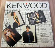 KENWOOD PRESENTS LASER DISCO HITS BY/ MANUFACTURED BY NIPPON COLUMBIA CD ALBUM